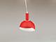 V-TAC Slide Red alumínium függeszték, E14, piros