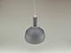 V-TAC Slide Grey alumínium függeszték, E14, szürke