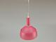 V-TAC Slide Pink alumínium függeszték, E14, rózsaszín Kifutó!