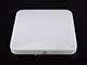 V-TAC Slim Dome LED UFO lámpatest (20W) négyzet - természetes f.