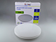 V-TAC Slim Dome LED UFO lámpatest (24W) - kör - term. fehér