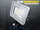 V-TAC Mozgásérzékelős LED reflektor (30W/100°) Szürke-f. 4500K