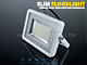V-TAC Slim LED reflektor (30W/100°) Szürke ház, Hideg fényű