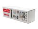 deLight Smart Power Tower motoros, süllyeszthető elosztó (3-as+2 USB) SR