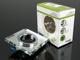 Kanlux SOREN L-GN spot lámpatest, négyzet, zöld fényű LED oldalvil.