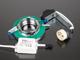 Kanlux SideLight Soren üveg spot lámpatest, kör, melegfehér LED oldalvilágítás