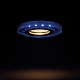 Kanlux SideLight Soren üveg spot lámpatest, kör, kék fényű LED oldalvilágítás