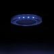Kanlux SOREN L-BL spot lámpatest, négyzet, kék fényű LED oldalvilágítás