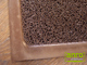 Függöny Center Spagetti mintás szennyfogó szőnyeg - Barna (60x85 cm)