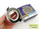 Kanlux Gwen DTO50 süllyeszthető spot lámpatest, fekete kör