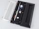 V-TAC StepLight-Q LED lépcsővilágító - téglalap, fekete (3W) 4000K