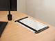 deLight Süllyeszthető elosztó asztalba, kábelkivezetővel, alu (5-ös)
