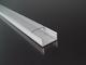 LED Profiles Surface-3 Alumínium U profil ezüst, LED szalaghoz, átlátszó burával