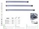 Kanlux Bútorvilágító Lincy LED mozgásérzékelős (9W) - 60 cm