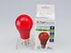 V-TAC Színes LED lámpa E27 (9W/200°) Körte - piros