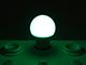 V-TAC Színes LED lámpa E27 (9W/200°) Körte - zöld