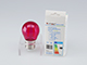 V-TAC Színes LED lámpa E27 Filament (2W/300°) Kisgömb - pink