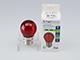 V-TAC Színes LED lámpa E27 Filament (2W/300°) Kisgömb - piros