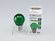 V-TAC Színes LED lámpa E27 Filament (2W/300°) Kisgömb - zöld