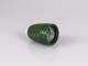 Színes E27-es porcelán foglalat - zöld