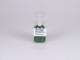 V-TAC 3797 E27-es porcelán foglalat - zöld
