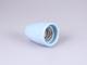 V-TAC Színes E27-es porcelán foglalat - kék