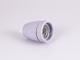 V-TAC Színes E27-es porcelán foglalat - szürke