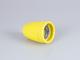 V-TAC Színes E27-es porcelán foglalat - sárga