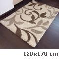 Shaggy szőnyeg 3 cm-es, (0912a) Csont 80x150 cm