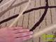 Kevert szálú, nyírt szőnyeg (1511a) Beige 80x250 cm