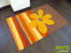 Függöny Center Arte Espina szőnyeg Yellow Summer (120x180 cm)