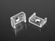 LED Profiles ALP-002 Tartó-, rögzítő elem LED profilhoz, műanyag
