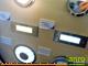 Kanlux Oldalfali lámpatest TAXI LED-12 melegfehér