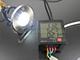Elmark GRF LED 001 talajba építhető LED lámpa, kör (1.5W) hideg fehér IP67