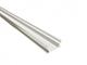 Lumines Terra - Burkolatba építhető alumínium profil LED szalaghoz, opál (PC) burával