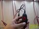 LED szalag dimmer (12V DC) - Touch zsinórdimmer - fekete