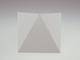 V-TAC Triangles oldalfali dekor lámpatest - fehér (5W) meleg fehér