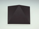 V-TAC Triangles oldalfali dekor lámpatest - fekete (5W) természetes f.