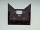 V-TAC Triangles oldalfali dekor lámpatest - fekete (5W) természetes fehér Kifutó!