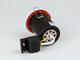 Tűzbiztos GU10 spot lámpatest, billenthető, fehér