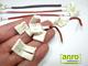 ANRO LED GTLED forrasztásmentes betáp csatlakozó 3528-as LED szalag bekötéséhez (8 mm - 2 eres)