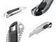 Handy Univerzális kés, tapétavágó szike (18 mm) fém, szürke