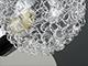Rábalux Cosmo exkluzív fém-üveg spot lámpatest (G9) 4-es