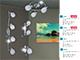 Rábalux Dave exkluzív fém-üveg spot lámpatest (E14) 3-as