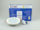 V-TAC Üveg keretes LED panel (kör) - 12W - hideg fényű