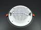 V-TAC Üveg keretes LED panel (kör) - 18W - hideg fényű