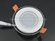 V-TAC Üveg keretes LED panel (kör)-6W-meleg fényű Kifutó!