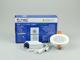 V-TAC Üveg keretes LED panel (kör) - 6W - természetes fényű