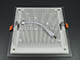 V-TAC Üveg keretes LED panel (négyzet) - 18W - természetes fényű