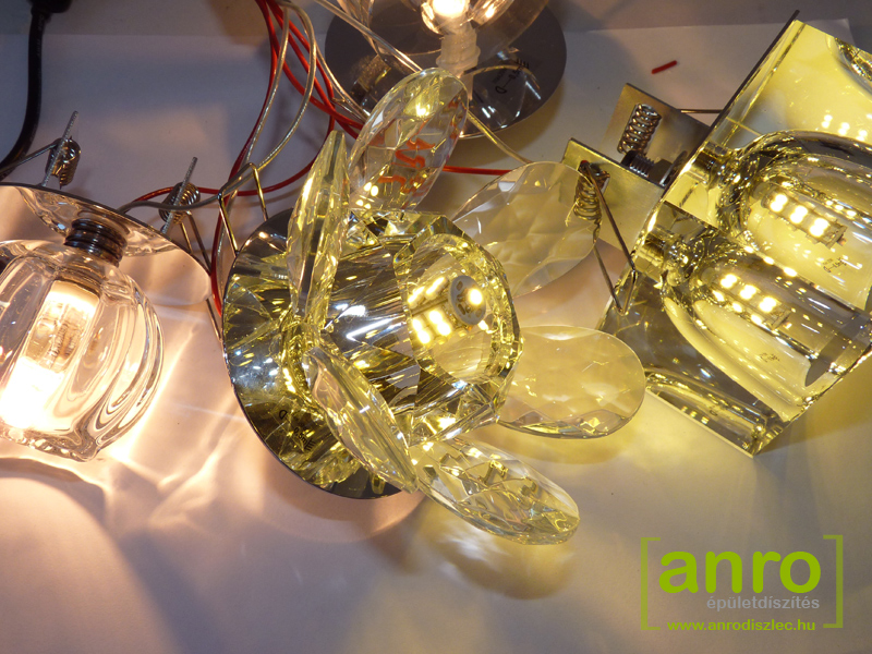Kanlux - Kristály mennyezeti lámpatest: Patia (G4)